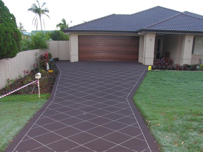 Home driveway concreting in Brisbane